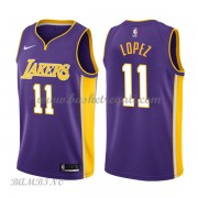 Canotte Basket Bambino Los Angeles Lakers 2018 Brook Lopez 11# Statement Edition..