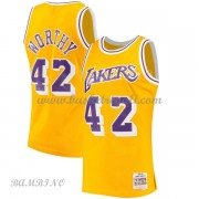 Canotte Basket Bambino Los Angeles Lakers 1984-85 James Worthy 42# Gold Hardwood Classics..
