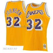Canotte Basket Bambino Los Angeles Lakers 1984-85 Magic Johnson 32# Gold Hardwood Classics..