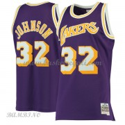 Canotte Basket Bambino Los Angeles Lakers 1984-85 Magic Johnson 32# Purple Hardwood Classics..