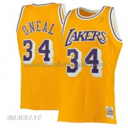Canotte Basket Bambino Los Angeles Lakers 1996-97 Shaquille O'Neal 34# Gold Hardwood Classics..