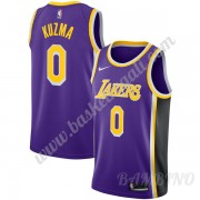 Canotte Basket Bambino Los Angeles Lakers 2019-20 Kyle Kuzma 0# Viola Statement Edition Swingman..