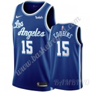 Canotte Basket Bambino Los Angeles Lakers 2019-20 DeMarcus Cousins 15# Blu Classics Edition Swingman..