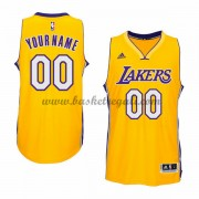 Maglie NBA Gold Home 2015-16 Canotte Los Angeles Lakers