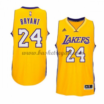 Maglie NBA Kobe Bryant 24# Gold Home 2015-16 Canotte Los Angeles Lakers