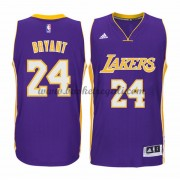 Maglie Basket NBA Los Angeles Lakers Uomo 2015-16 Kobe Bryant 24# Road Swingman..