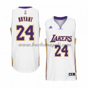 Maglie Basket NBA Los Angeles Lakers Uomo 2015-16 Kobe Bryant 24# White Home Swingman..