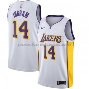 Maglie NBA Los Angeles Lakers 2018 Canotte Brandon Ingram 14# Association Edition..