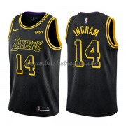 Maglie NBA Los Angeles Lakers 2018 Canotte Brandon Ingram 14# City Edition..