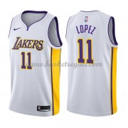 Maglie NBA Los Angeles Lakers 2018 Canotte Brook Lopez 11# Association Edition..