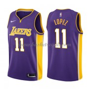 Maglie NBA Los Angeles Lakers 2018 Canotte Brook Lopez 11# Statement Edition..