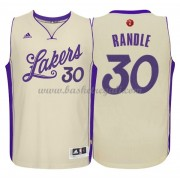 Magliette Basket Los Angeles Lakers 2015 Julius Randle 30# NBA Natale Swingman..