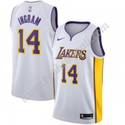 Maglie NBA Los Angeles Lakers 2019-20 Brandon Ingram 14# Bianca Association Edition Canotte Swingman