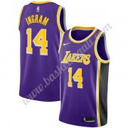 Maglie NBA Los Angeles Lakers 2019-20 Brandon Ingram 14# Viola Statement Edition Canotte Swingman