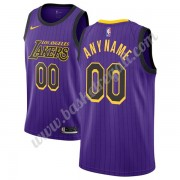 Maglie NBA Los Angeles Lakers 2019-20 Viola City Edition Canotte Swingman..