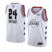 Maglie Basket NBA Los Angeles Lakers 2019 Kobe Bryant 24# Bianca All Star Game Canotte Swingman..