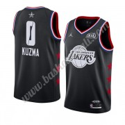 Maglie Basket NBA Los Angeles Lakers 2019 Kyle Kuzma 0# Nero All Star Game Canotte Swingman..
