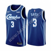 Maglie NBA Los Angeles Lakers 2019-20 Anthony Davis 3# Blu Classics Edition Canotte Swingman..