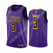 Maglie NBA Los Angeles Lakers 2019-20 Anthony Davis 3# Viola City Edition Canotte Swingman..