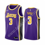Maglie NBA Los Angeles Lakers 2019-20 Anthony Davis 3# Viola Statement Edition Canotte Swingman..