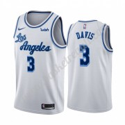 Maglie NBA Los Angeles Lakers 2019-20 Anthony Davis 3# Bianca Classics Edition Canotte Swingman..