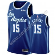 Maglie NBA Los Angeles Lakers 2019-20 DeMarcus Cousins 15# Blu Classics Edition Canotte Swingman..