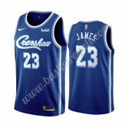 Maglie NBA Los Angeles Lakers 2019-20 LeBron James 23# Blu Classics Edition Canotte Swingman..
