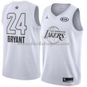 Divise Basket Los Angeles Lakers s Kobe Bryant 24# Bianca 2018 All Star Game..