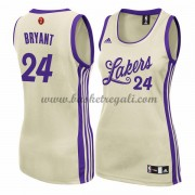 Magliette Basket Los Angeles Lakers Donna 2015 Kobe Bryant 24# NBA Natale Swingman..
