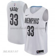 Canotte Basket Bambino Memphis Grizzlies 2018 Marc Gasol 33# City Edition..