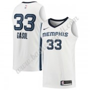 Maglie NBA Memphis Grizzlies 2018 Canotte Marc Gasol 33# Association Edition..