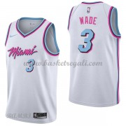 Canotte Basket Bambino Miami Heat 2018 Dwyane Wade 3# City Edition..
