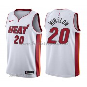 Canotte Basket Bambino Miami Heat 2018 Justise Winslow 20# Association Edition..