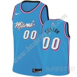 Canotte Basket Bambino Miami Heat 2019-20 Blu City Edition Swingman