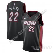 Canotte Basket Bambino Miami Heat 2019-20 Jimmy Butler 22# Nero Icon Edition Swingman..