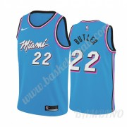 Canotte Basket Bambino Miami Heat 2019-20 Jimmy Butler 22# Blu City Edition Swingman..