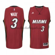 Maglie Basket NBA Miami Heat Uomo 2015-16 Dwyane Wade 3# Alternate Swingman..