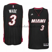 Maglie Basket NBA Miami Heat Uomo 2015-16 Dwyane Wade 3# Road Swingman..