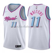 Maglie NBA Miami Heat 2018 Canotte Dion Waiters 11# City Edition..