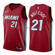 Maglie NBA Miami Heat 2018 Canotte Hassan Whiteside 21# Statement Edition..