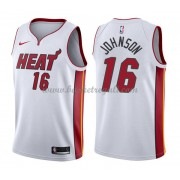 Maglie NBA Miami Heat 2018 Canotte James Johnson 16# Association Edition..