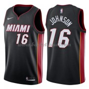 Maglie NBA Miami Heat 2018 Canotte James Johnson 16# Icon Edition..