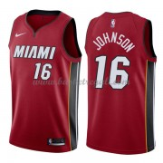 Maglie NBA Miami Heat 2018 Canotte James Johnson 16# Statement Edition..