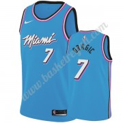 Maglie NBA Miami Heat 2019-20 Goran Dragic 7# Blu City Edition Canotte Swingman..