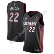 Maglie NBA Miami Heat 2019-20 Jimmy Butler 22# Nero Icon Edition Canotte Swingman..