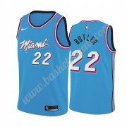 Maglie NBA Miami Heat 2019-20 Jimmy Butler 22# Blu City Edition Canotte Swingman..
