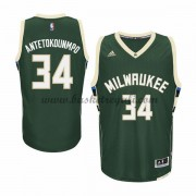 Maglie NBA Giannis Antetokounmp 34# Road 2015-16 Canotte Milwaukee Bucks..