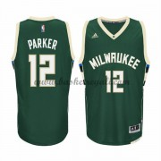 Maglie NBA Jabari Parker 12# Road 2015-16 Canotte Milwaukee Bucks..