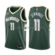 Maglie NBA Milwaukee Bucks 2018 Canotte Brandon Jennings 11# Icon Edition..