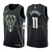 Maglie NBA Milwaukee Bucks 2018 Canotte Brandon Jennings 11# Statement Edition..